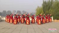 河南省项城市滨河健身指导站水鼓舞 中国龙 表演 团队版