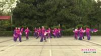 河南省信阳市罗山县动感四五六舞蹈队  我们的美好时代 表演 团队版