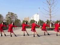 沭河之光广场舞《相爱的从前》原创广场舞 正背面口令分解动作教学演示