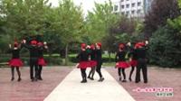 河南省信阳市淮滨县文超舞队一拖二水兵舞 阿哥阿妹 表演 团队版