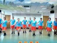 清盈百合广场舞《高原深处的爱》原创舞蹈 正背面演示