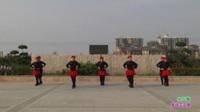 新乡县龙泉舞动青春舞蹈队广场舞 少林少林 表演 团队版