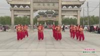 河南省鹿邑县玄武鞋城医院舞蹈队广场舞  阿拉伯之夜 表演 团队版