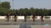 郑州市高新区靓丽舞蹈队1队广场舞 十送红军 表演 团队版