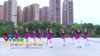 湖南娄底广场舞协会 醉情歌 表演 团队版
