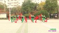 汝州市王寨阳光舞队广场舞 中国最美歌 表演 团队版