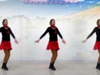 信阳阿琴广场舞《雪山阿佳》原创水兵舞 附口令分解动作教学演示