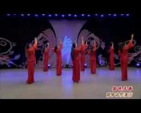 北京艺莞儿广场舞蹈队广场舞 国色天香(背身) 表演 团队版
