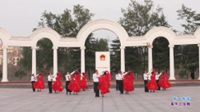 河南南召镇平伟姐开心舞蹈队广场舞 等一等爱 表演 团队版