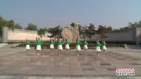 河南省洛宁县追忆青春舞蹈队广场舞  爱不在就放手 表演 团队版