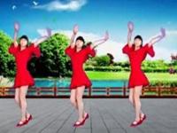 林子广场舞《爱情的力量》原创舞蹈 附正背面口令分解教学演示