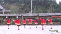 湖南常德红色军革命老区军鼓队 溜溜的姑娘像朵花 表演 团队版