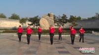 河南省洛阳市洛宁县在礼社区舞队广场舞  乌兰山下一朵花 表演 团队版