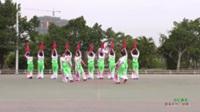 广东省廉江市红叶舞蹈队 世纪春雨 表演 团队版