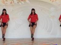 抚州雨欣缘广场舞《歌在飞》原创鬼步舞 附正背面口令分解教学演示