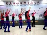 董兴花园广场舞《冬天里的白玫瑰》编舞益馨 正背面演示