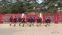 河南省洛阳市新安县磁涧镇李子沟姐妹舞蹈队广场舞  中国歌最美 表演 团队版
