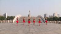 河南杨屹塔快乐广场舞 中国梦 表演 团队版