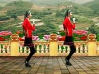 西门香香广场舞《水蓝蓝》原创入门32步 附口令分解动作教学演示