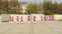 河南省偃师市首阳新区舞蹈队广场舞 茶山情歌 表演 团队版
