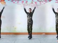 代玉广场舞《C哩C哩》原创舞蹈 正背面口令分解动作教学演示
