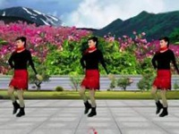 女女广场舞《你是我今生的依靠》原创舞蹈 附正背面口令分解教学演示