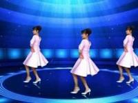 鄂州益馨广场舞《缘份让我和你在一起》原创中三步 附口令分解动作教学演示