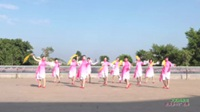 广东省湛江市遂溪县城月镇靓丽舞蹈队 又见雨夜花 表演 团队版