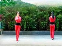 优柔广场舞《水兵舞步》原创舞步操第二套第四节 正背面演示
