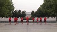 河南禹州好运来舞队广场舞 想着你的好 表演 团队版