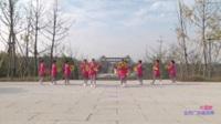 江西崇仁木兰舞蹈队广场舞 中国梦 表演 团队版
