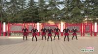 河南省洛阳市新安县磁涧镇杨镇开心广场舞队广场舞  红红线 表演 团队版