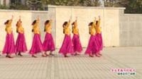 河南省偃师市新起点舞蹈队广场舞  金达莱盛开的地方 表演 团队版