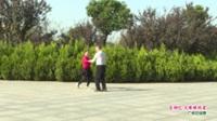 河南省信阳市体育舞蹈协会 王保林 陈淑琴   吉特巴 火辣辣的爱 表演 双人版