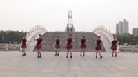 河南禹州刘好广场舞队广场舞 爱拼才会赢 表演 团队版
