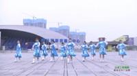 湖南常德金丹健身队 马背上的情歌 表演 团队版