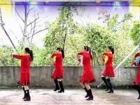 漓江飞舞广场舞《好事样样来》原创新年舞 附正背面口令分解教学演示