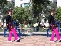 笑春风广场舞《玫瑰之约》原创21步鬼步舞 附正背面演示及口令分解动作教学