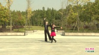 河南省信阳市息县体育舞蹈协会 杜海燕 刘春荣  伦巴 晚秋 表演 双人版