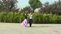 河南省信阳市体育舞蹈协会 陈伟 李燕  吉特巴 火辣辣的爱 表演 双人版