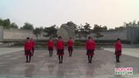 河南省洛宁县北头舞队广场舞  又见两只蝴蝶 表演 团队版