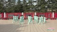 河南省洛阳市新安县磁涧镇磁涧镇健身队广场舞  24式太极拳 表演 团队版