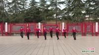 河南省洛阳市新安县磁涧镇杨洋舞蹈队广场舞  红马鞍 表演 团队版