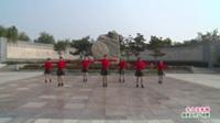 河南省洛宁县西湾舞蹈队广场舞  女人没有错 表演 团队版