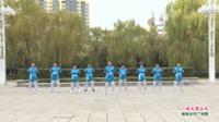 河南省洛阳市嵩县南无拳飞龙队广场舞  南无拳26式 表演 团队版