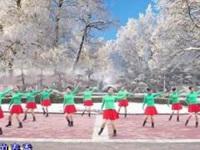 中油四季广场舞《缘分让我们在一起》原创三步舞 附正背面口令分解教学