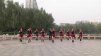 河南禹州尹庄社区舞蹈队广场舞 中国梦 表演 团队版