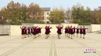 河南省偃师市爱99春风舞蹈队广场舞  春到最北方 表演 团队版