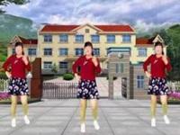 龙海追梦广场舞《吉隆坡》编舞茉莉 恰恰舞 正背面演示