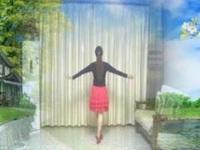 绿叶广场舞《飞翔的翅膀》原创舞蹈 正背面演示
